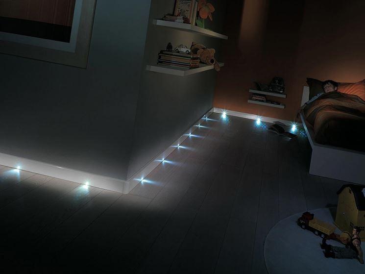 pavimento fibra ottica