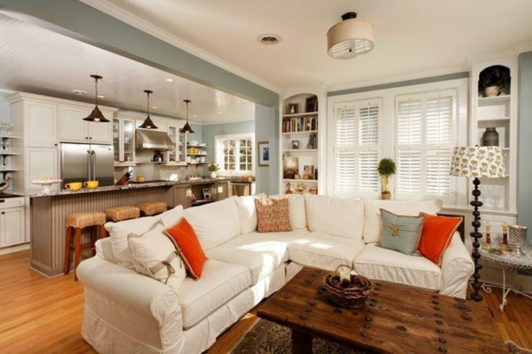 angolo cottura in soggiorno - Cucina