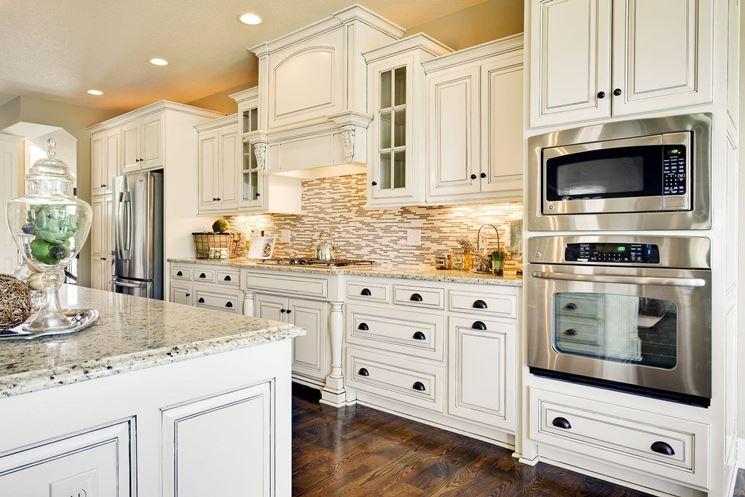 Bianco in cucina - Cucina - Una cucina tutta bianca