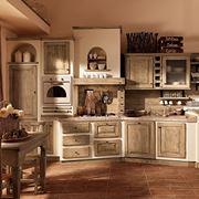 esempio di cucina in muratura