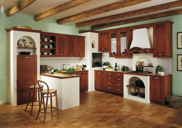 Costruire cucine in muratura sicure e durevoli cucina - Cucine in muratura con penisola ...