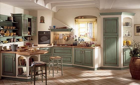 Creare una cucina economica in muratura in stile rustico cucina - Creare in cucina d ...