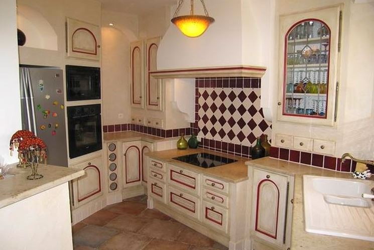 Credenze provenzali - Cucina