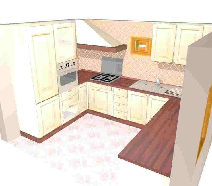 cucina ad u - Cucina