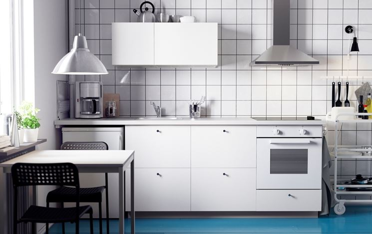 cucina Ikea compatta