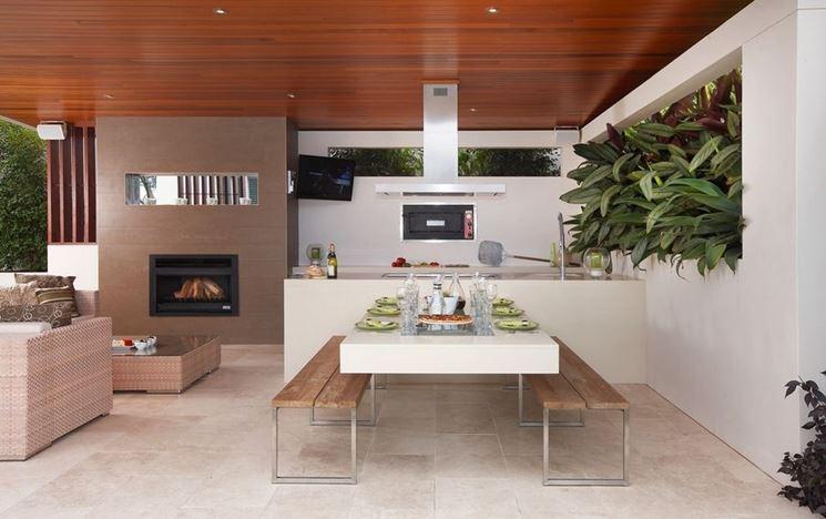 Cucina e soggiorno insieme, un progetto dinamico - Cucina - Cucina ...