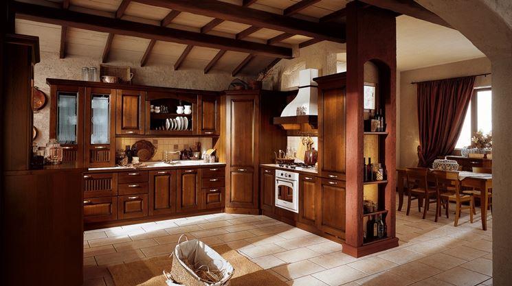 Cucina in arte povera soluzione progettuale cucina for Arredamento rustico elegante