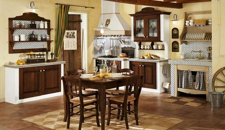 Come Costruire Una Cucina In Muratura Fai Da Te. La Cucina Dello ...