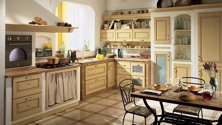 Cucina in muratura fai da te: Mobili per cucina in muratura