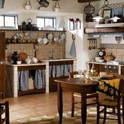 cucina rustica in muratura