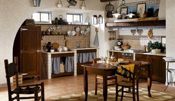Cucina in muratura rustica cucina costruire cucina in muratura rustica - Cappa cucina in muratura ...