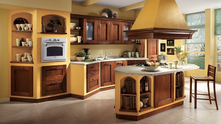 Esempi Di Cucine In Muratura Moderne.Cucina In Muratura Cucina Realizzare Una Cucina In Muratura