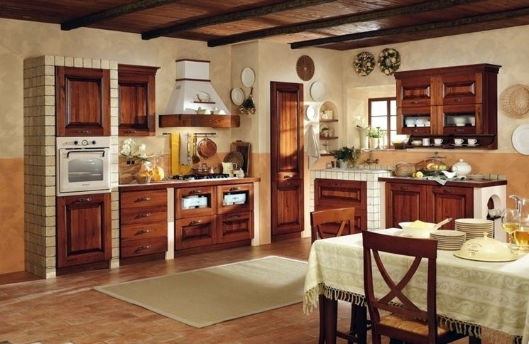 Cucina in muratura cucina realizzare una cucina in muratura - Cucine in muratura progetti ...
