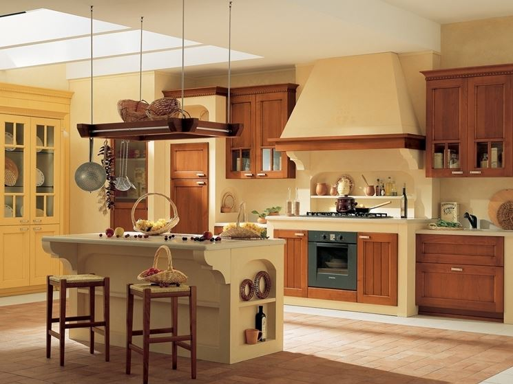 Cucina in muratura cucina realizzare una cucina in for Costruire isola cucina