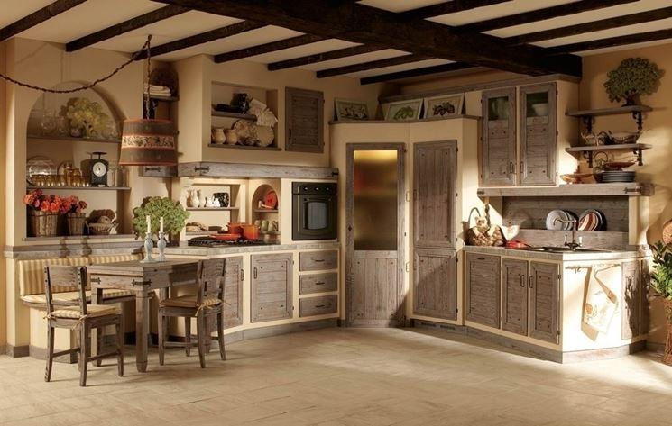 Cucina in muratura cucina realizzare una cucina in - Ante per cucina in muratura ...