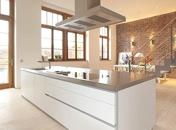 Cucina minimal cucina - Meglio luce calda o fredda in cucina ...