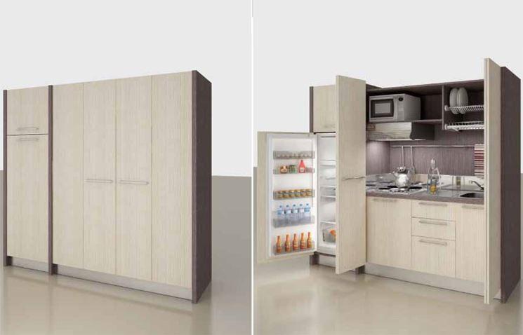 Cucina monoblocco cucina tipologie di cucine monoblocco - Armadio cucina monoblocco ...