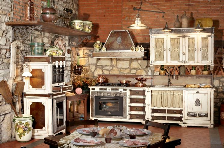 Cucina rustica: idea di progetto - Cucina