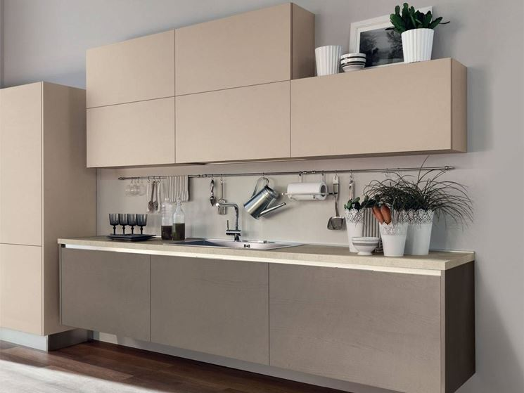 Cucina senza maniglie cucina - Maniglie cucina acciaio ...