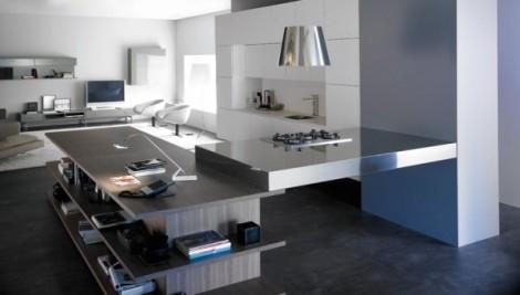 Cucina soggiorno - Cucina
