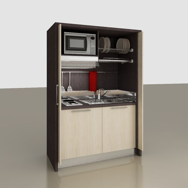 Awesome Cucina A Scomparsa Economica Images - Design & Ideas 2017 ...