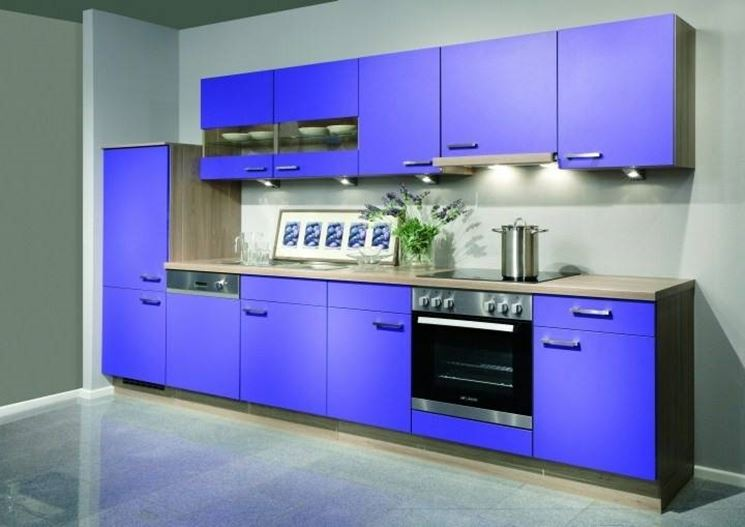 Pareti colorate cucina i colori per le pareti della - Cucine moderne gialle ...