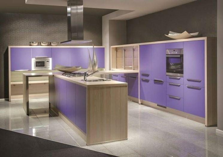 I colori delle cucine