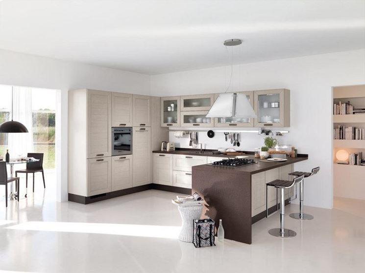 Altezza Piano Snack Cucina. Moduli E Misure Cucine Con Dimensioni ...