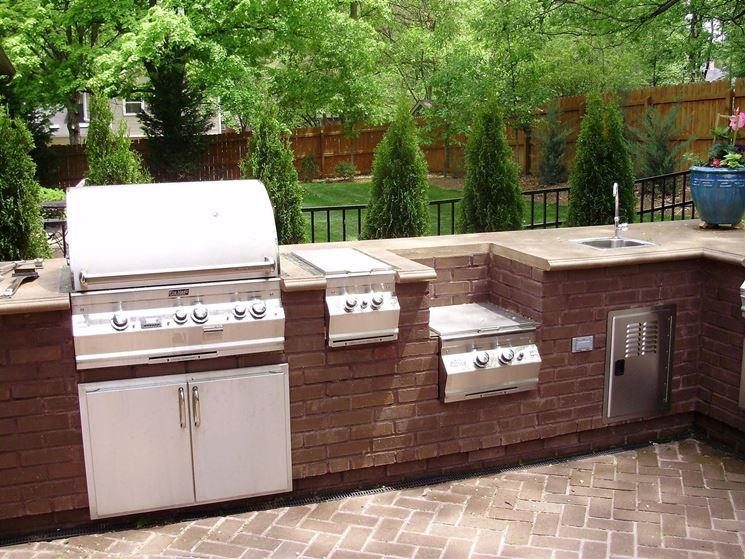 Cucine da esterno - Cucina