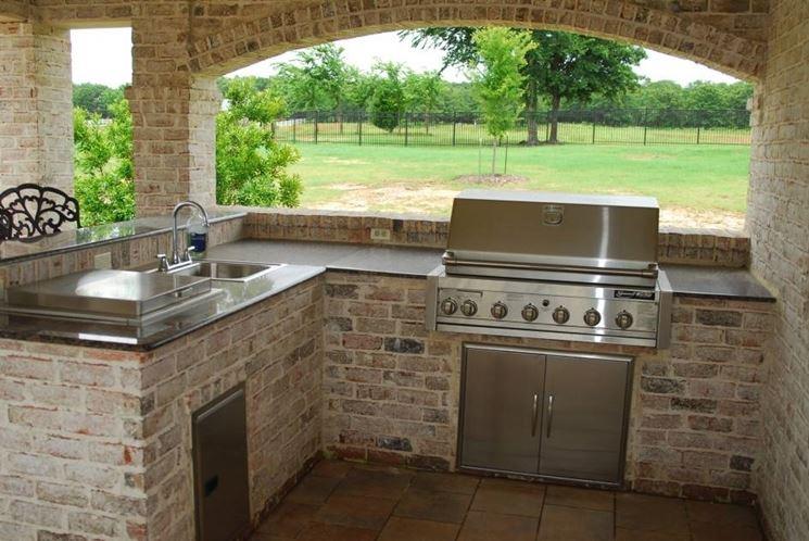 Cucine da esterno cucina - Cucina da esterno ...