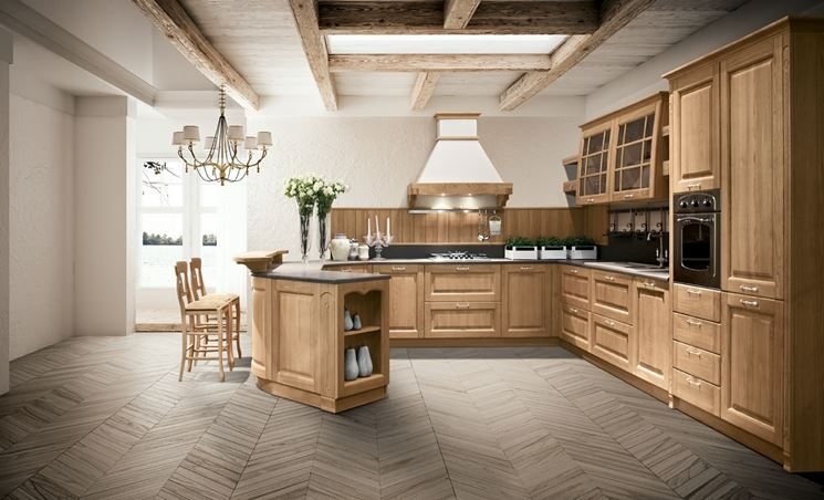 cucina Stosa in legno
