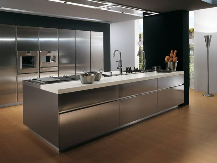 Stunning Cucine In Acciaio Per Casa Contemporary - Ideas & Design ...