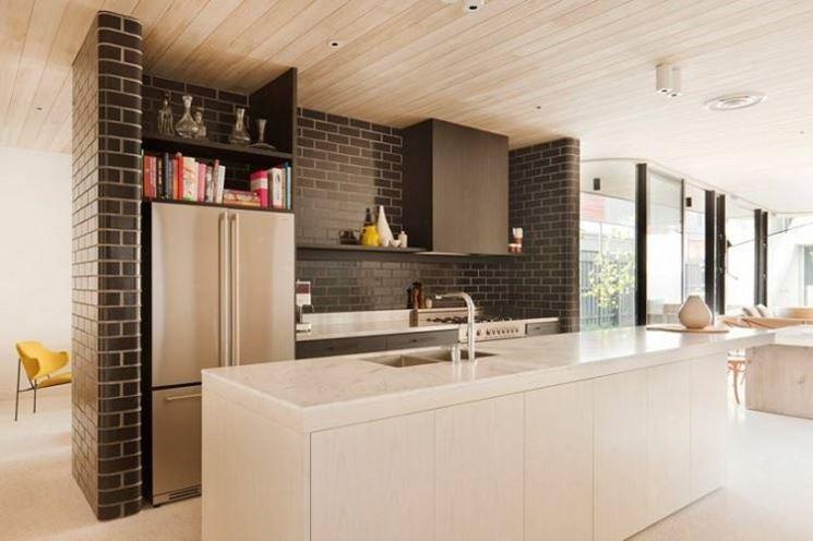 Cucine in muratura moderne cucina - Piano cucina in muratura ...