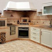 Mattoni Per Cucine In Muratura. Trendy Idea Cucina Con Un Look ...