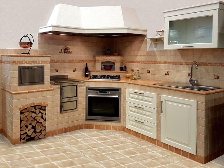 Cucine in muratura prefabbricate cucina caratteristiche delle cucine in muratura prefabbricate - Cucina in muratura ...