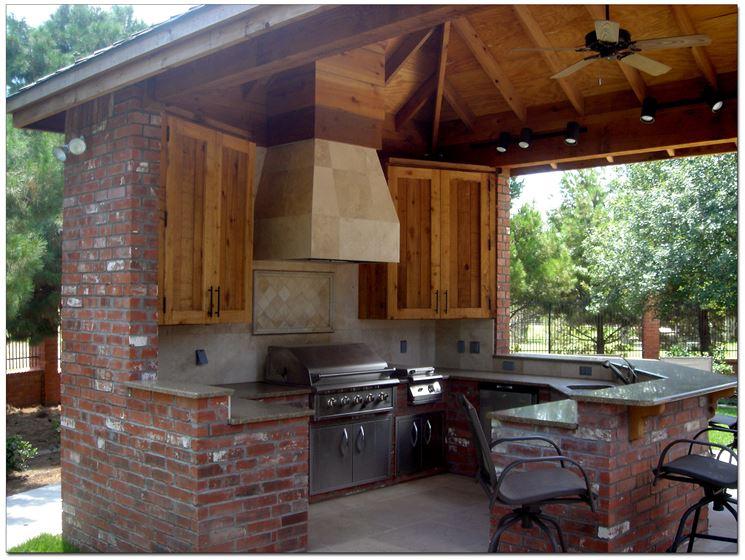 Cucine in muratura prefabbricate - Cucina - Caratteristiche delle ...