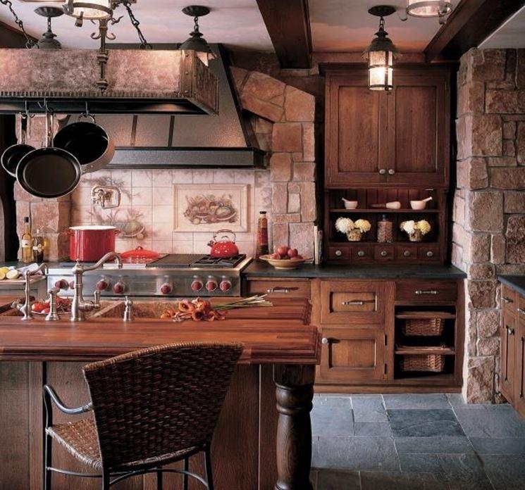 Cucine in muratura rustiche - Cucina
