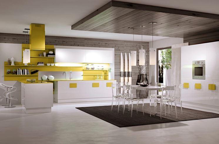 cucina moderna in polimerico