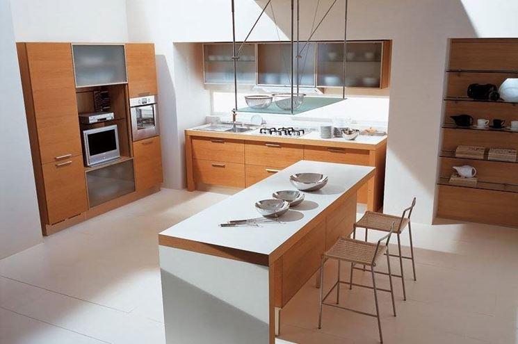 Cucine moderne in legno cucina - Cucine moderne in legno naturale ...