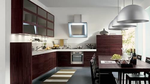cucine moderne in legno - Cucina
