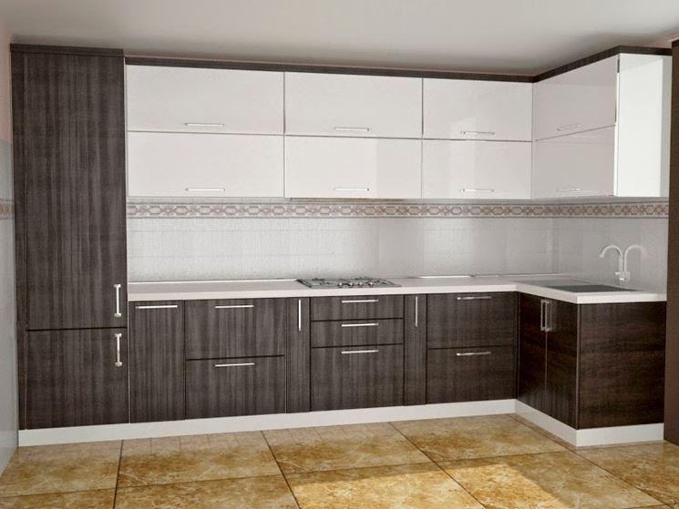 esempio di cucina modulare