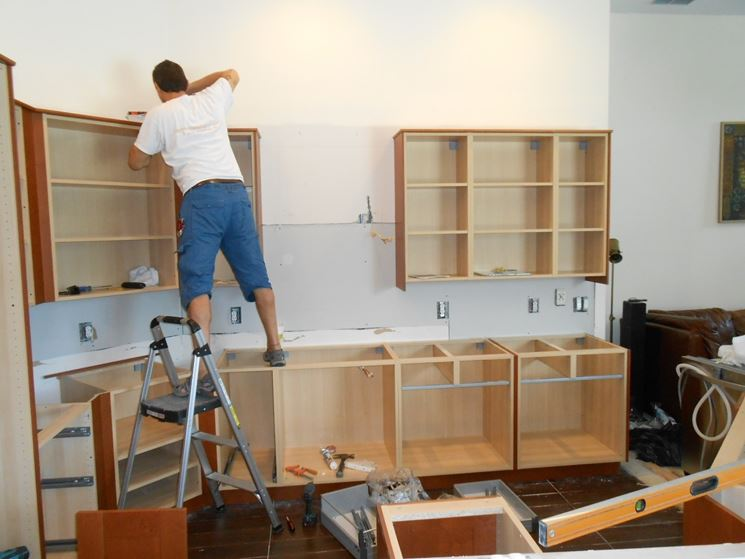 Cucine modulari cucina come scegliere le cucine modulari - Comporre una cucina ...