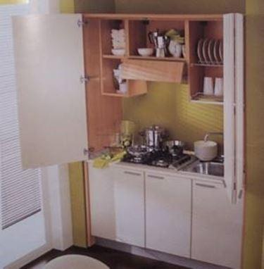 cucine monoblocco a scomparsa - Cucina