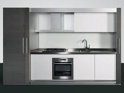 cucine monoblocco - cucina - Cucine Monoblocco A Scomparsa Prezzi