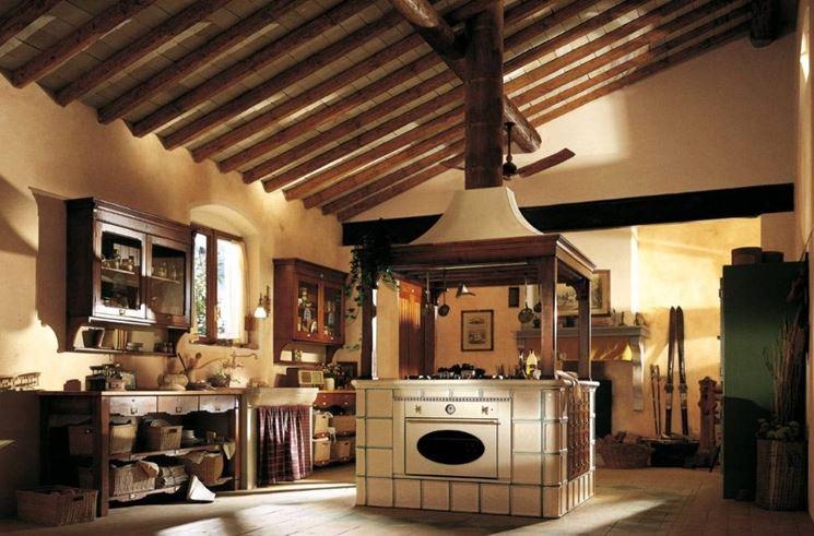 La cucina classica cucina - Colori pareti cucina classica ...