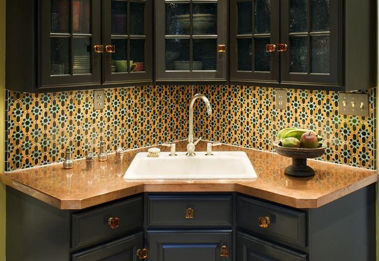 Lavello ad angolo cucina lavello angolare - Lavello cucina angolare ...