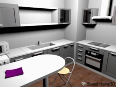 progettare cucina con sweet home