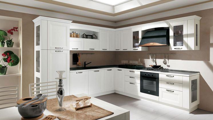 Progetto cucina composizione triangolare cucina idea - Progetto cucina angolare ...
