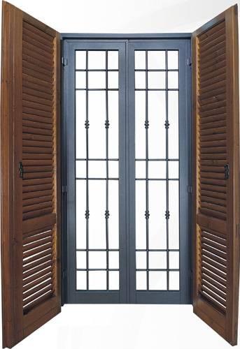 Inferriate di sicurezza finestra for Sbarre per porte
