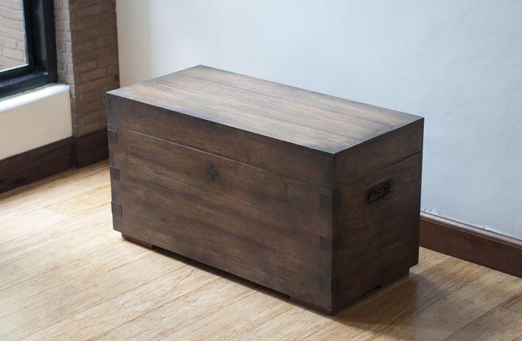 Cassapanca in legno mobili costruire cassapanca in legno for Cassapanca in legno da esterno